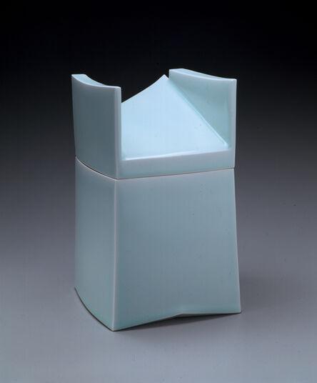 Sueharu Fukami, 'Set of Three Covered Boxes: Imaging the Box #7: Breath (Hako no katachi #7: Ki), Imaging the Box #8: Space (Hako no katachi #8: Ma), Imaging the Box #9: Flow (Hako no katachi #9: Nagare)', 2002