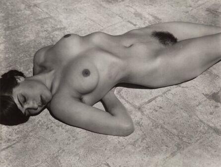 Edward Weston, 'Tina on the Azotea (from Desnudos portfolio)', 1923
