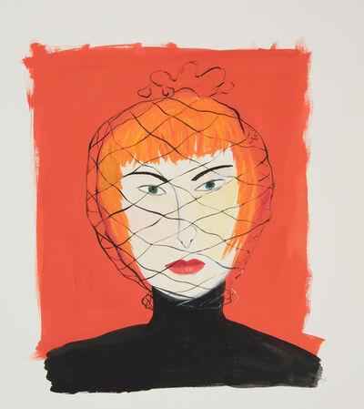 Maira Kalman, 'Woman with Face Net', 2000