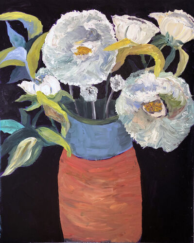 Kathleen Sidwell, 'Big White Flowers', 2019