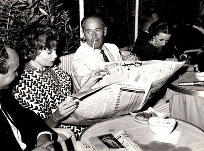 Marcello Geppetti, 'Henry Fonda and his wife Afdera Franchetti', 1960
