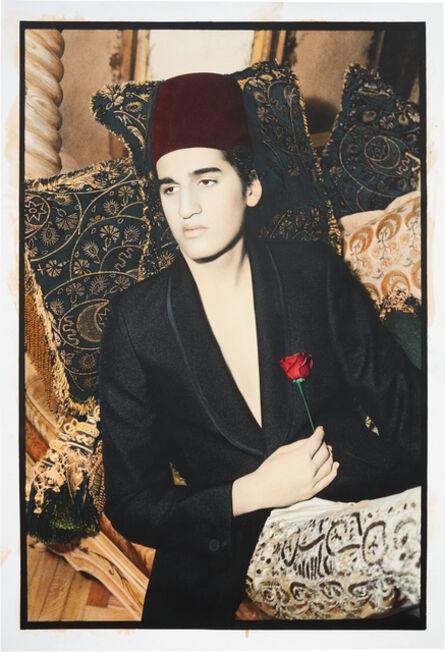 Youssef Nabil, 'Lonely Pasha, Cairo', 2002
