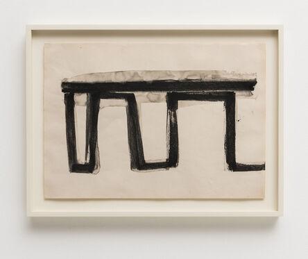 Mira Schendel, 'Untitled [from the Aguadas series]', c. 1963