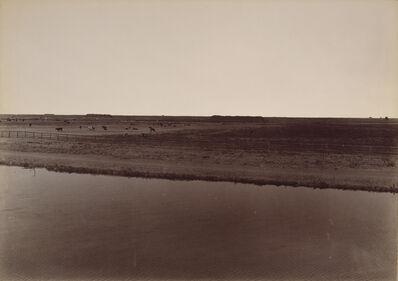 Carleton E. Watkins, 'View on the Calloway Canal, Near Poso Creek, Kern County', 1887