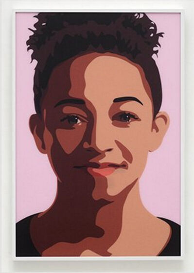 Julian Opie, 'Imogen Smiling', 2016