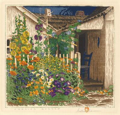 Gustave Baumann, 'Hoosier Garden.', 1927-1961