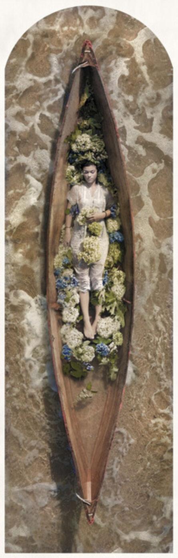 Kahn & Selesnick, 'Arianna, Hydrangea, Pirogue'