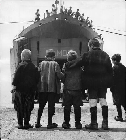 David Seymour, 'Greece, saving children', 1948