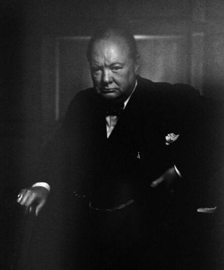 Yousuf Karsh, 'Winston Churchill'