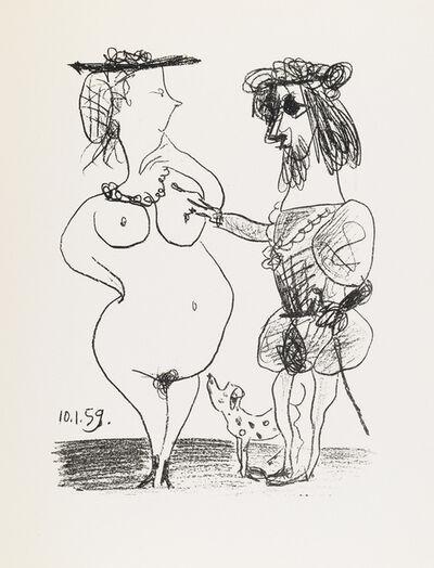 Pablo Picasso, 'Le Seigneur et la dame [The Lord and the Dame]', 1959