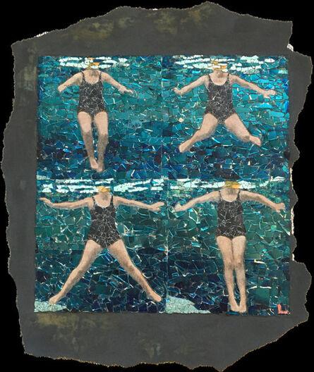 Matthew Lazure, 'Fig.40. Treading water using breast stroke kick.', year unknown