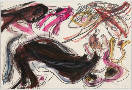 Walter Stöhrer, 'Irgendso ein Clown', 1997
