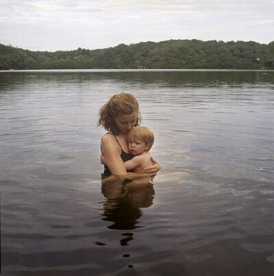 Jessica Todd Harper, 'Self Portrait with Nicholas (lake)', 2009