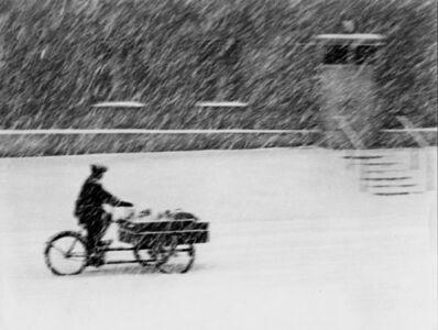 János Szász, 'Tricycle (Tricikil aa hoeseben)', ca. 1958