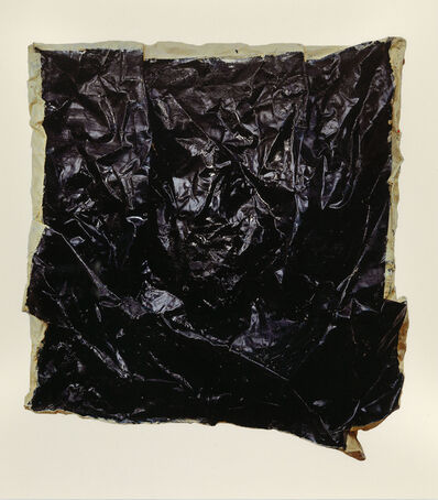 Angela de la Cruz, 'Loose Fit 1 (Large/black)', 1999 (2014)