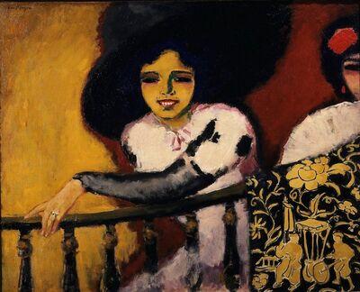 Kees van Dongen, 'Woman at the Banister'