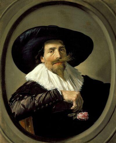 Frans Hals, 'Portrait of Pieter Tjarck', ca. 1635 -1638