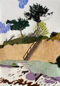 Per Adolfsen, 'Stairs to the Beach', 2020