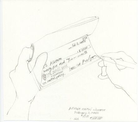 Danica Phelps, 'Allstate renter's insurance. #129.', 2003