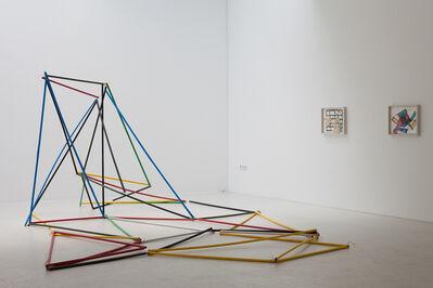 Yorgos Sapountzis, 'Raster Baste – vor 25 Jahren', 2012