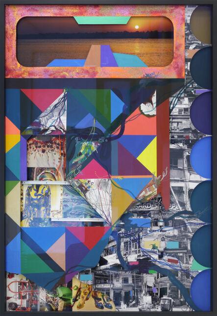 Franz Ackermann, 'India West', 2014