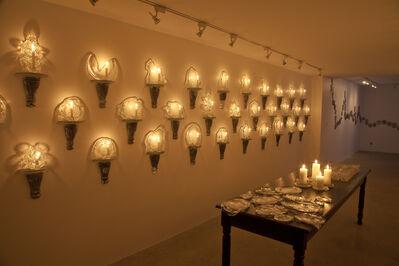 Aaron Pexa, 'Installation View: Sconces, Platters, Tumblers', 2015