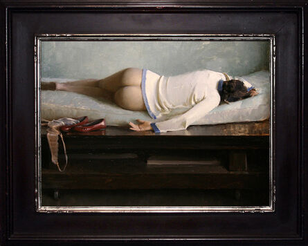 Jeremy Lipking, 'The Red Shoes', 2015