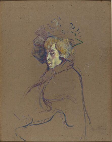 Henri de Toulouse-Lautrec, 'Jane Avril', 1892