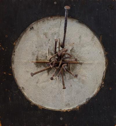 Arthur Monroe, 'Circular construction with nails', Unknown