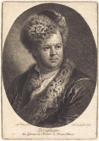 Georg Friedrich Schmidt after Antoine Pesne, 'Johann Melchior Dinglinger', 1769
