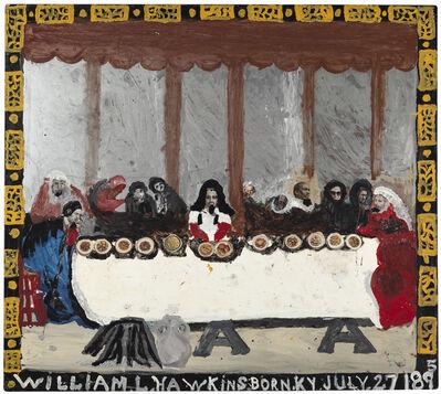 William Hawkins, 'Last Supper No. 9', 1987