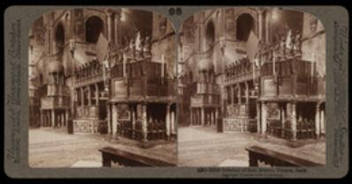 Bert Underwood, 'Interior of San Marco, Venice', 1900