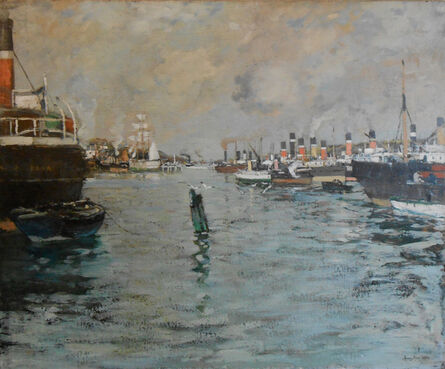 James Kay, 'Steamboats on The Clyde'