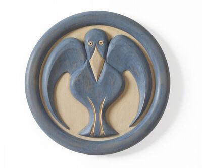 Judy Kensley McKie, 'Bluebird Plaque', 2012