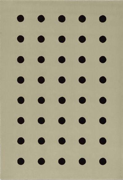 John M. Armleder, 'Quarante Cercles (FS 218)', 1988-2012