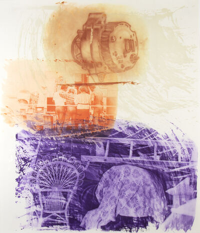 Robert Rauschenberg, 'Back Up, from Ground Rules  ', 1997