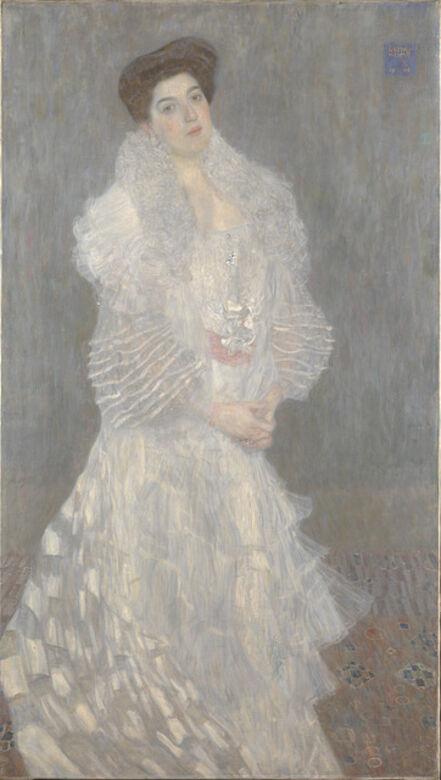 Gustav Klimt, 'Portrait of Hermine Gallia', 1904