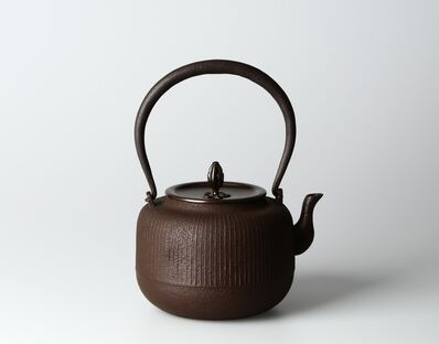 Hata Shunsai, 'Tetsubin with Original Design', 2020