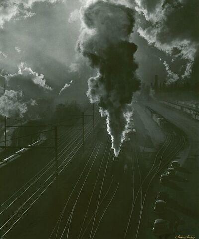 A. Aubrey Bodine, 'Pennsylvania Train Yard'