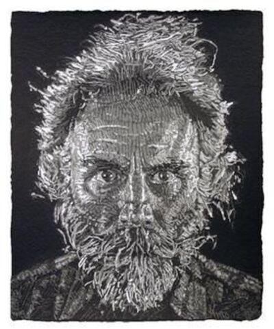 Chuck Close, 'Lucas Paper Pulp', 2008