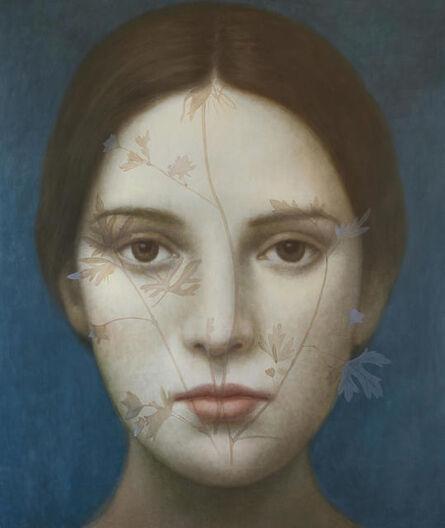 Alberto Gálvez, 'Azul Indigo II', 2017