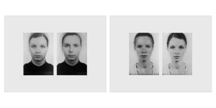 Thomas Ruff, 'Andere Doppelportraits', 1996