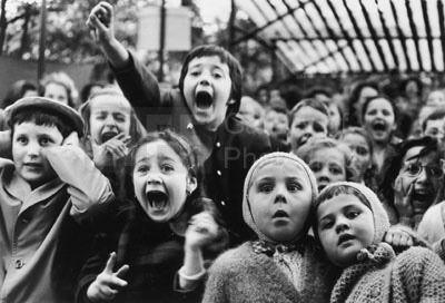 Alfred Eisenstaedt, 'Children at a Puppet Theatre', 1963