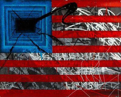Saber, 'Art Work Rebels Flag', 2010