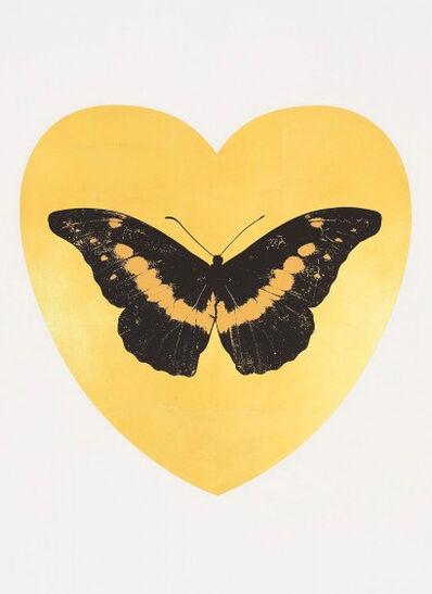 Damien Hirst, 'I Love You - Gold Leaf/Black/Cool Gold', 2015