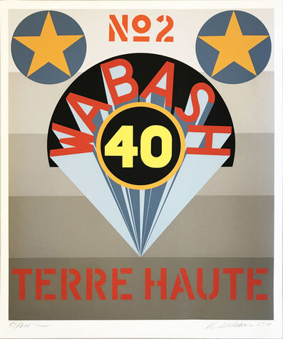 Robert Indiana, 'Decade (Terre Haute No. 2)', 1971