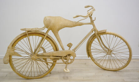 """Lin Tianmiao, 'Bicycle from """"Bound/ Unbound"""" Series', 1996"""
