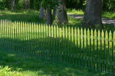 Alyson Shotz, 'Mirror Fence', 2003