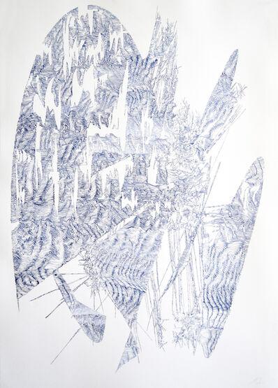 Lyndi Sales, 'Erosion drawing 2', 2017