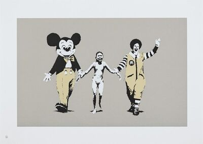 Banksy, 'Napalm Unsigned', 2004